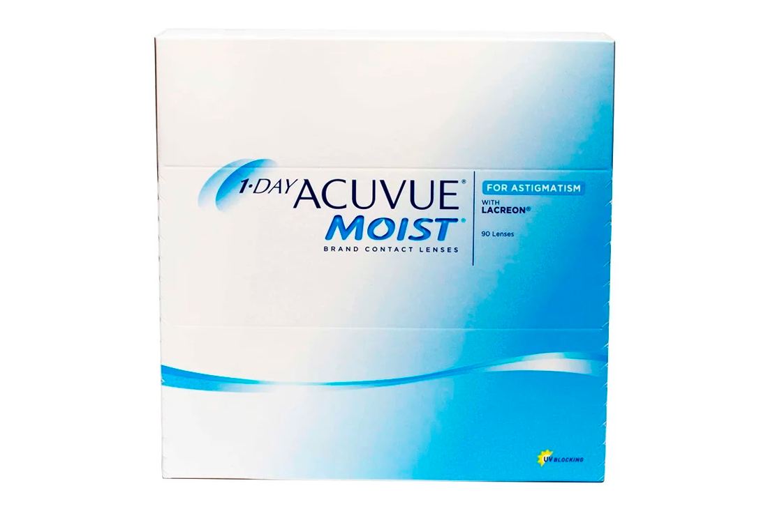 Контактные линзы 1-Day Acuvue Moist For Astigmatism (90) - 1